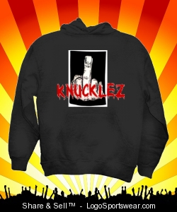 BLOODY KNUCKLEZ FUCK YOU HOODIE Design Zoom